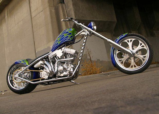 jesse james bikes | See more pictures of Jesse James' bikes at WestCoastChoppers.com