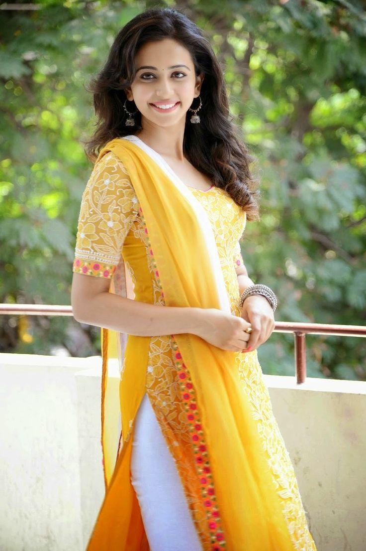 simple yellow salwar kameez - Google Search