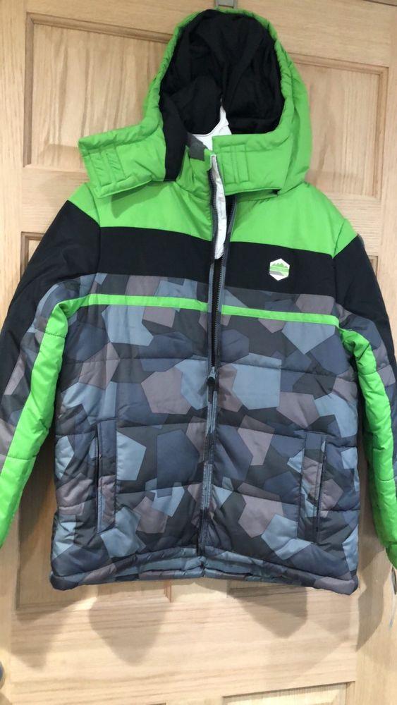 f2fde6e47 Boys Jackets Coats Size Large 14-16 LONDON FOG Colorblock Puffer ...
