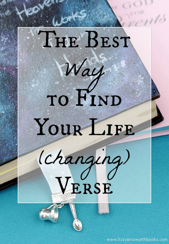 How To Find Your Life Verse Bible Study #biblestudy #lifegoals