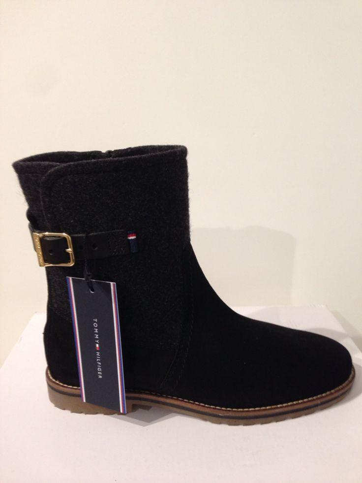 Botí bicolor negre/gris de Tommy Hilfiger: 164,90€