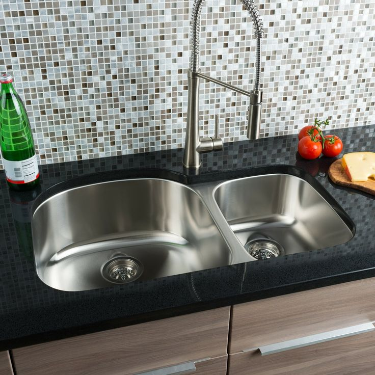 Pin By Techpurchases On Best Kitchen Sinks Double Bowl Kitchen Sink Double Bowl Undermount Kitchen Sink Double Bowl Sink