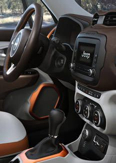 2015 jeep renegade interior dashboard about prescott - Jeep renegade trailhawk interior ...
