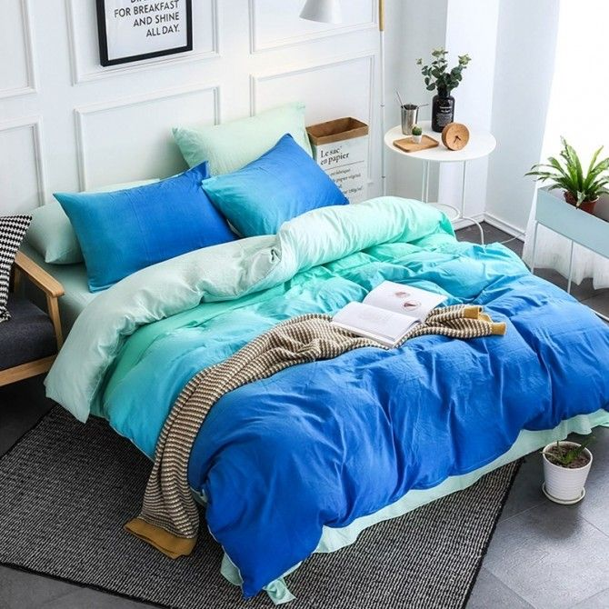 Blue Bedding Blue Living Room Decor Bed Linens Luxury Bed