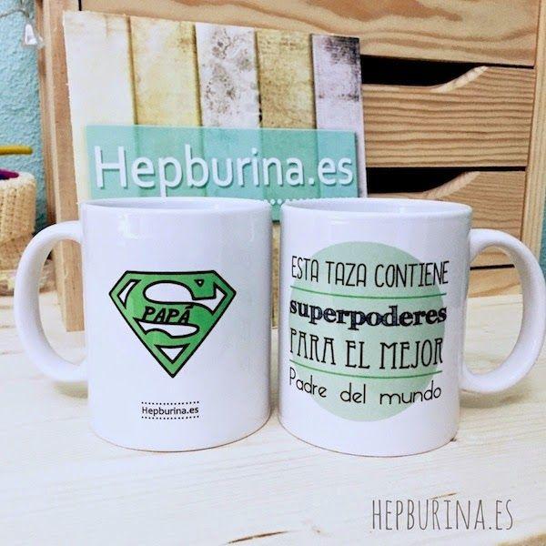 Hepburina: Taza Día del Padre