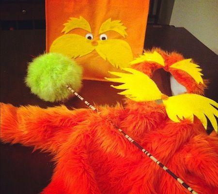 54 best kids4running images on pinterest carnivals rainbow handmade halloween costume tutorial the lorax costume solutioingenieria Gallery
