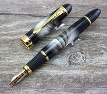 JINHAO X450 Pluma Fuente de Metal Sin Lápiz Caja de Papelería Oficina de la escuela de Escritura de lujo de lujo regalo bolígrafos Lindos(China (Mainland))