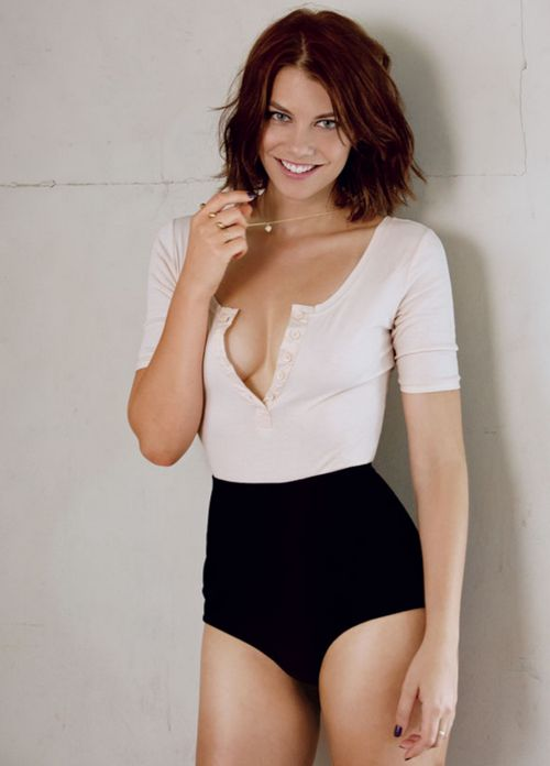 Lauren Cohan- 09/13 Maxim Photo Shoot