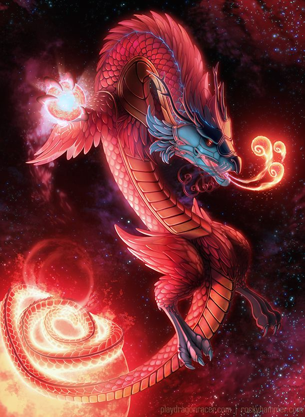 Artwork for dragon racer