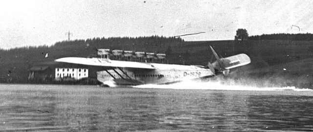 After a successful 1932 tour of German coastal cities, Lufthansa planned a Do X flight to Vienna, Budapest, and Istanbul for 1933. The voyage ended after nine days when the flying boat's tail section tore off during a botched, over-steep landing on a reservoir lake near the city of Passau. While the fiasco was successfully covered up and the Do X was repaired, it was then flown to Berlin, where it became the centerpiece of Germany's new aviation museum Deutsche Luftfahrt-Sammlung at Lehrter…