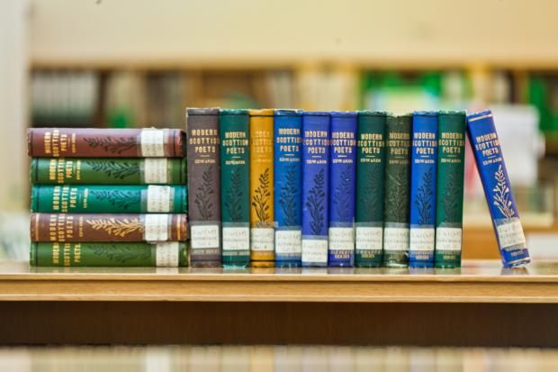 Collections   Scottish Poetry Library