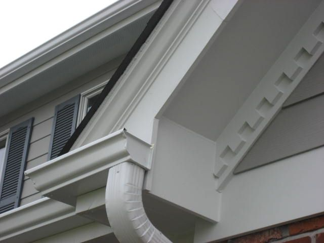 Exterior Trim Molding Soffit Fascia Crown Mould Dentil