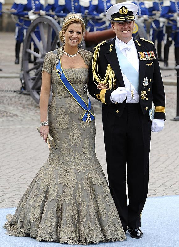Crown Princess Maxima and Prince Willem-Alexander of the Netherlands