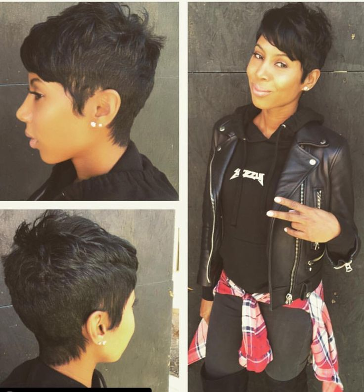 I really love this.  Every time I say I'm gonna grow my hair out, I see these cutie pixie cuts.