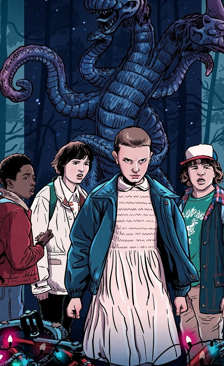 "The Fan Art For ""Stranger Things"" Is Absolutely Stunning"