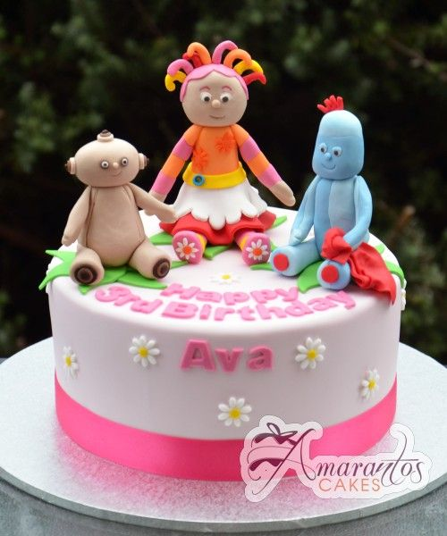 32 best in the night garden cake images on pinterest for In the night garden cakes designs