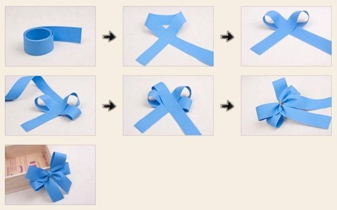как завязать ленточку для открытки позволило кристине