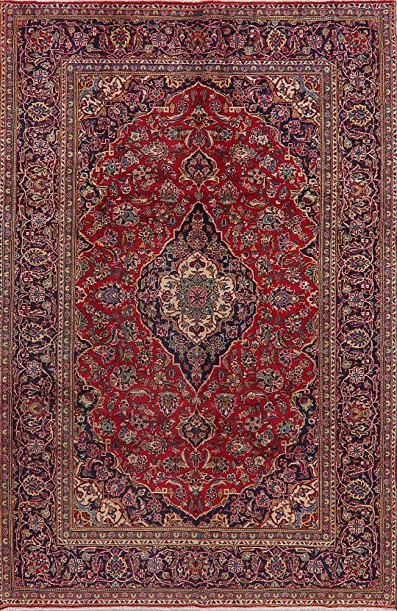 Traditional Ardakan Floral Wool Area Rug 7x10 Hand Knotted Oriental Carpet For Living Room 6 7 X 9 10 Wool Area Rugs Rugs Oriental Carpets Area rugs 7 x 10