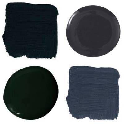 Benjamin moore black satin 2131 10 benjamin moore 39 s for Dark forest green paint