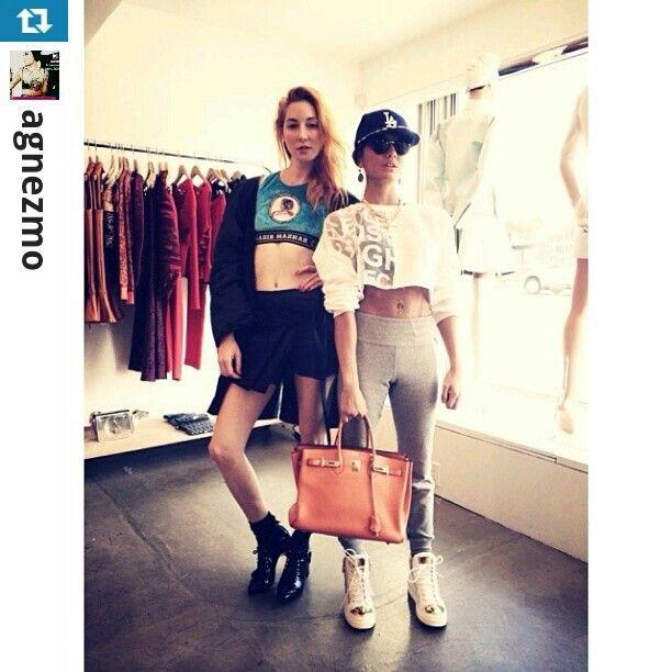 @AGNEZ MO  fashion. Style.