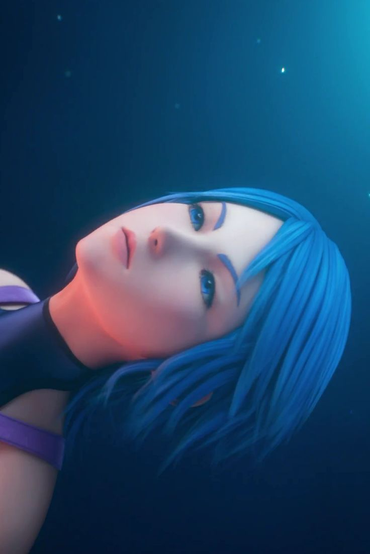 #KINGDOM HEARTS#AQUA#0.2