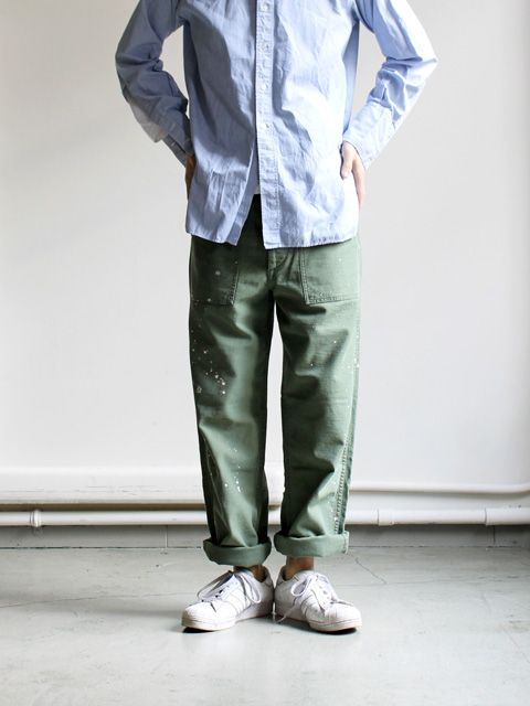 orslow fatigue pant - Menswear heritage