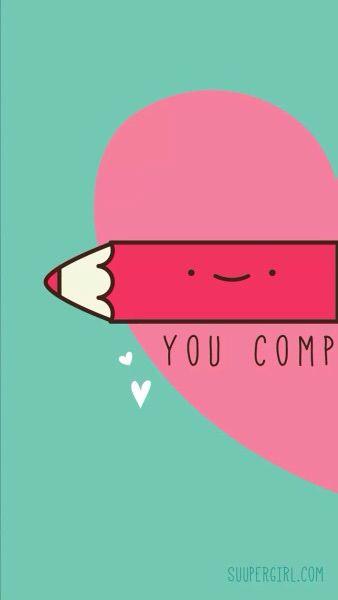 Você me completa