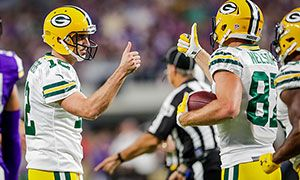 Aaron Rodgers: 'I know I've got to play better and I will'