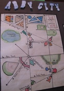 This has been my students' favorite project this year. The whole point is to have students use the geometric terms that they've learned in a creative way. You can use it as a way for students to learn and practice new vocabulary, or as a review project, or even as a culminating project after a unit on geometry.I have been developing this project over time, and I've worked out many of the kinks.