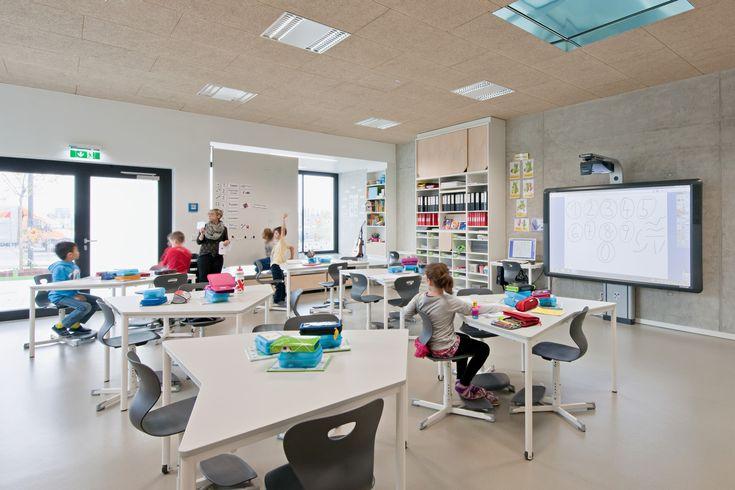 Bildungscampus Sonnwendviertel,Undirected classrooms. Image © Hertha Hurnaus