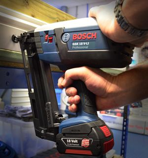In this quick guide we're going to show you how to affix skirting or other mouldings using a brad nailer.