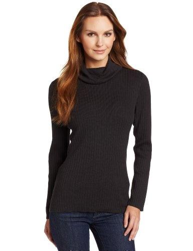 Jones New York Women`s Long Sleeve Turtle Neck Sweater $56.07
