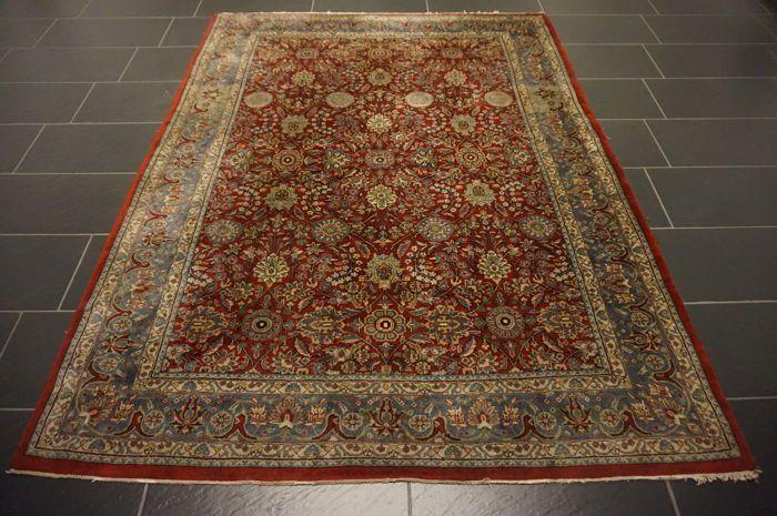 Prachtige handgeknoopte oosterse tapijt Indo Qom Nain ovaal 175 x 235 cm gemaakt in India  EUR 1.00  Meer informatie