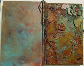 Rusted Book cover-how to