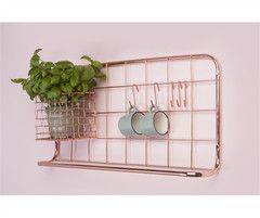 Kitchen Rack Copper