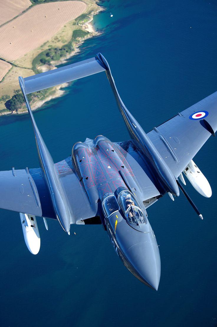 World's only airworthy de Havilland Sea Vixen                                                                                                                                                                                 More