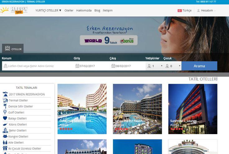 happytatil.com islami oteller , antalya otelleri , erken rezervasyon