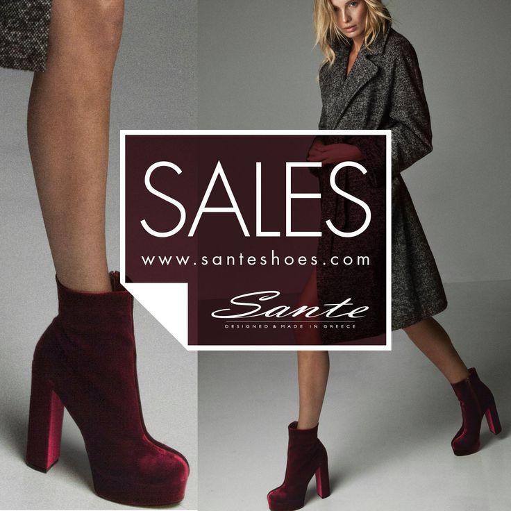 SANTE shoes Fall Winter 2016/17 #SanteFW1617 SHOP #SALE in stores & online: www.santeshoes.com