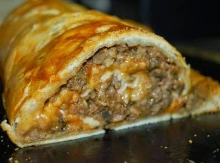 Stuffed Meatloaf Roll Recipe ~ Easy Recipes