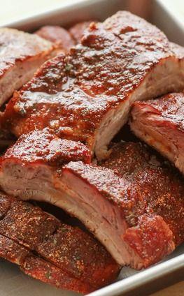 Estilo seco, costelas na grelha ou no forno