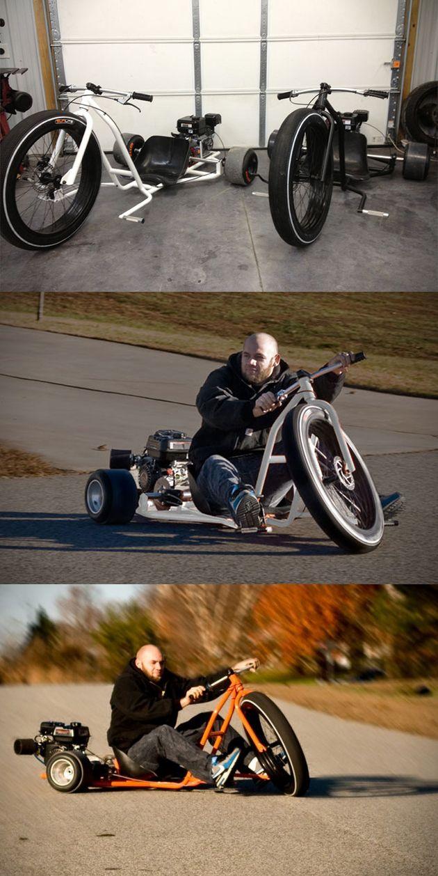 Big Wheel Drift Trike 2000$