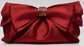 ❤ Satin Valeria Clutch(f)