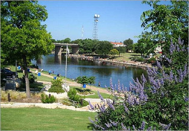Concho River...San Angelo Texas--I ran a Girl Scout nighttime week long summer camp utilizing the river