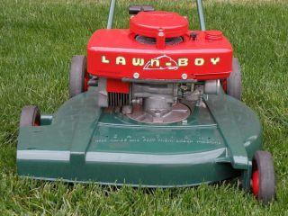 Vintage 1956 Lawn Boy Push Mower Small Engines