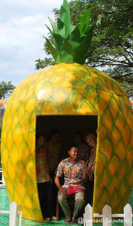 Sponge Bob's House in Fruits Festival Taman Buah Mekarsari