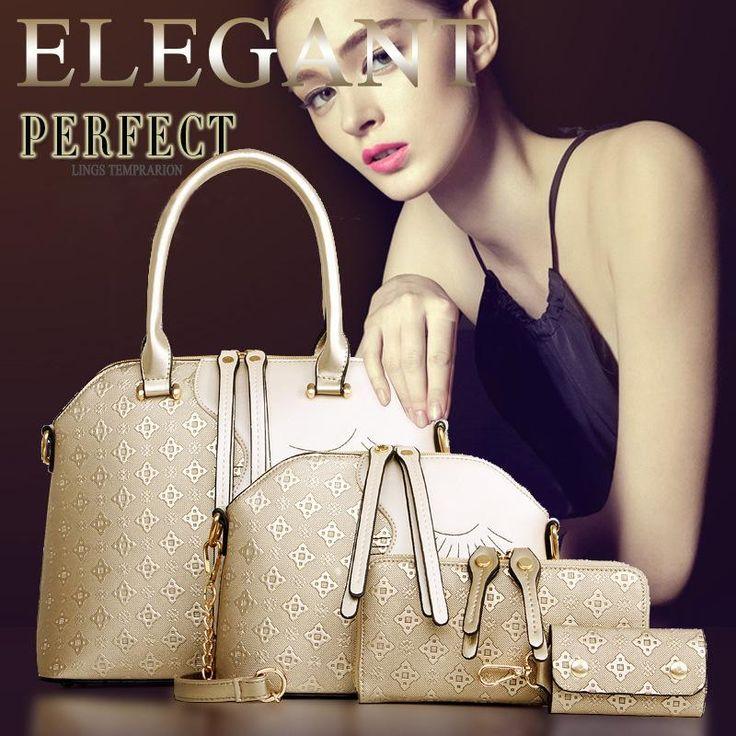 $26.99 (Buy here: https://alitems.com/g/1e8d114494ebda23ff8b16525dc3e8/?i=5&ulp=https%3A%2F%2Fwww.aliexpress.com%2Fitem%2F2015-female-bag-in-four-piece-lash-bag-handbag-fashion-handbags-wholesale-handbags-Ms-Beauty-face%2F32462374971.html ) 2016  female bag in four piece lash bag handbag fashion handbags wholesale handbags  single shoulder bag for just $26.99