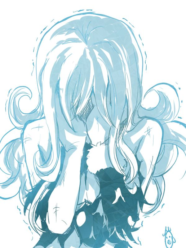 Juvia (Fairy Tail) hehehe who made Juvia cry? Because ego ever did is gonna get it!