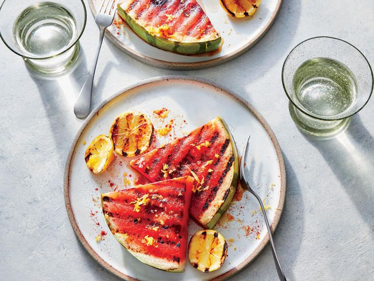 How-Sweet Grilled Watermelon