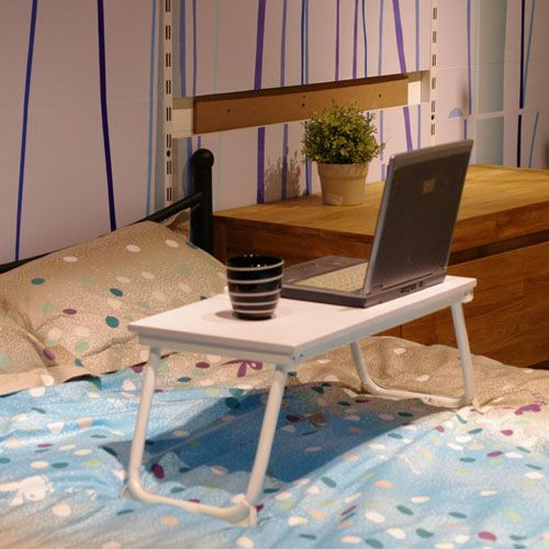 bed laptop desk tray show photo ....free shipping Buy Portable Laptop Desk Folding Laptop Table Stand Computer Notebook Bed Tray White