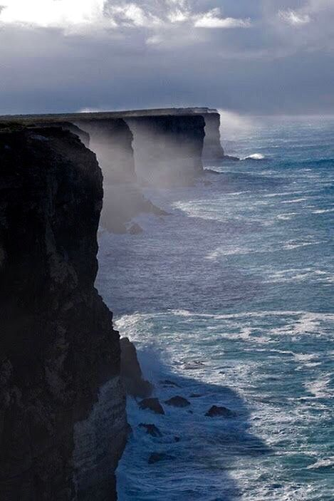 Bunda Cliffs, South Australia.                                                                                                                                                                                 More